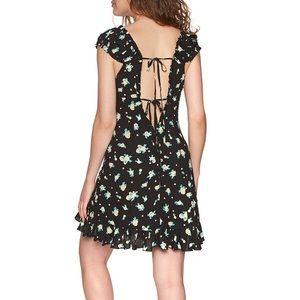 Casual Free People Like a Lady Printed Mini Dress